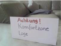 Achtung: Komfortzone Loge!